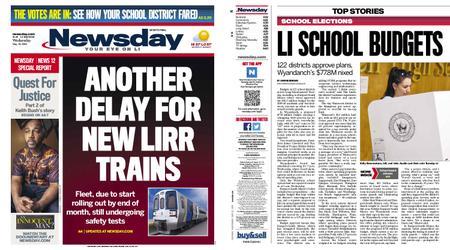 Newsday – May 22, 2019