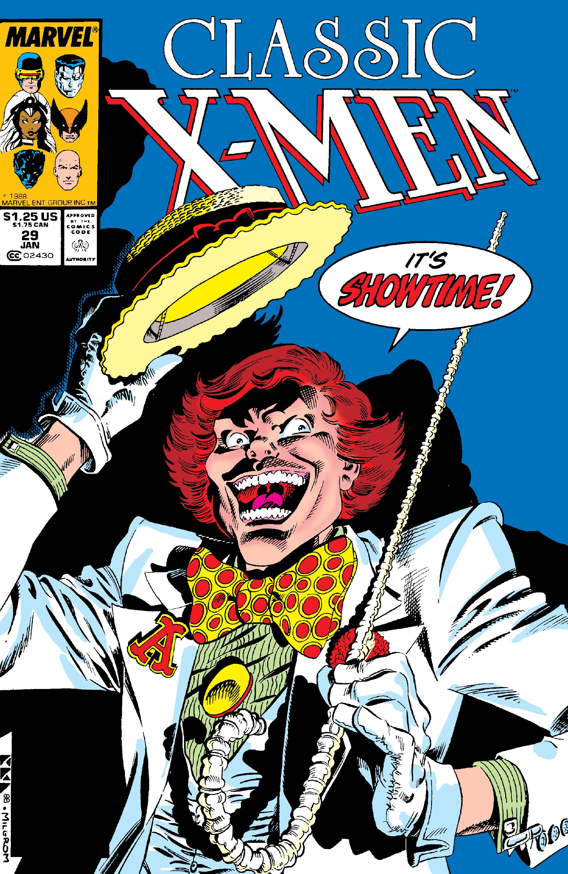 Classic X-Men 029 1989 Digital Shadowcat