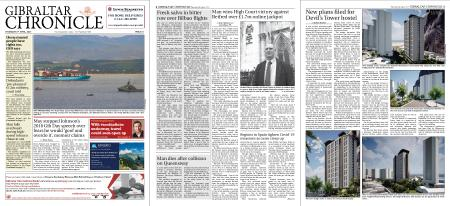 Gibraltar Chronicle – 08 April 2021