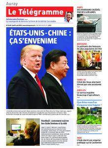 Le Télégramme Auray – 08 août 2019