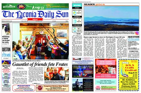 The Laconia Daily Sun – August 09, 2019