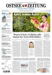 Ostsee Zeitung Wolgast - 31. August 2017