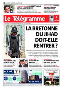 Le Télégramme Ouest Cornouaille – 10 avril 2021