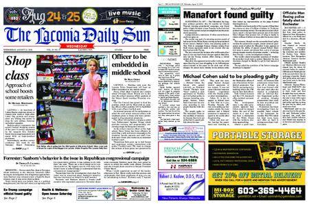 The Laconia Daily Sun – August 22, 2018