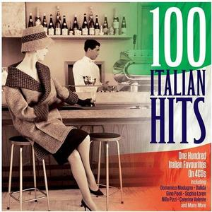 VA - 100 Italian Hits (4CD, 2018)
