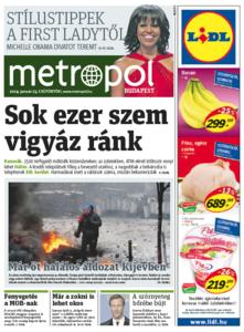 Metro [Hungary - Budapest], 23. Januar 2014