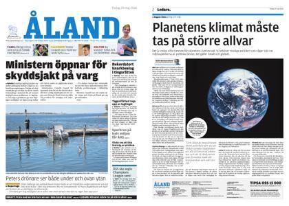 Ålandstidningen – 29 maj 2018