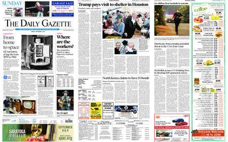 The Daily Gazette – September 03, 2017