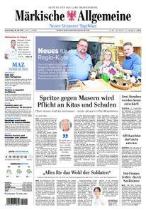 Märkische Allgemeine Neues Granseer Tageblatt - 18. Juli 2019