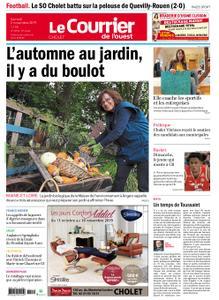 Le Courrier de l'Ouest Cholet – 02 novembre 2019