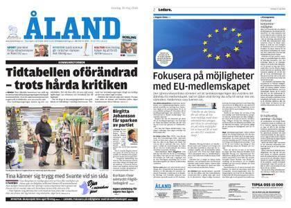 Ålandstidningen – 30 maj 2018