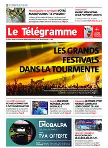 Le Télégramme Concarneau – 10 mars 2020