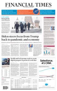 Financial Times Middle East - January 15, 2021