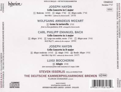 Steven Isserlis - Haydn, CPE Bach: Cello Concertos (2017) [Official Digital Download 24-96]