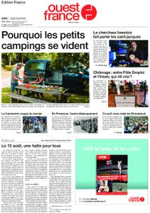 Ouest-France Édition France – 15 août 2019