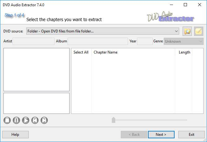 DVD Audio Extractor 7.5.1