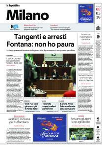 la Repubblica Milano – 08 maggio 2019
