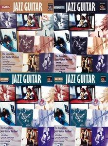 "Jody Fisher, ""The Complete Jazz Guitar Method"" vol.1-4 (repost)"
