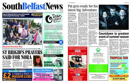 South Belfast News – August 15, 2019