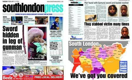 South London Press – February 13, 2018