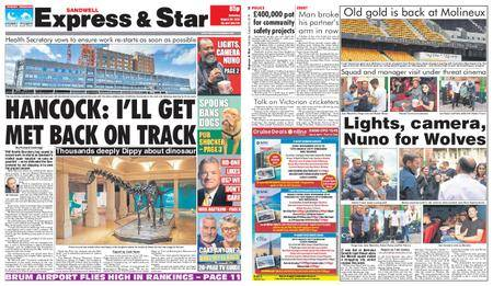 Express and Star Sandwell Edition – August 25, 2018