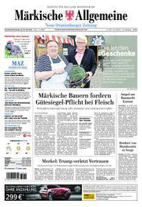 Neue Oranienburger Zeitung - 12. Mai 2018