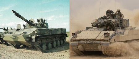 BMP vs M2 Bradley