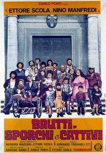 Ugly, Dirty and Bad / Brutti, sporchi e cattivi / Отвратительные, грязные, злые (1976)