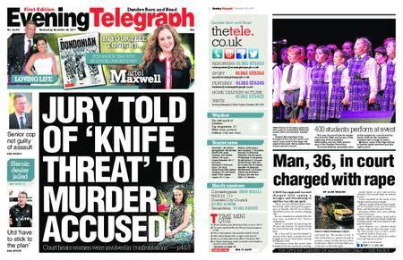 Evening Telegraph First Edition – November 29, 2017