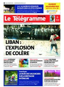 Le Télégramme Ouest Cornouaille – 09 août 2020
