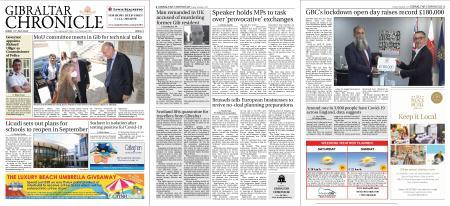 Gibraltar Chronicle – 10 July 2020