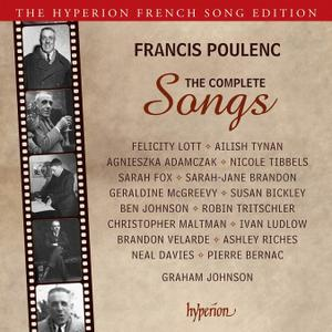 Francis Poulenc: The Complete Songs [4CDs] (2013)