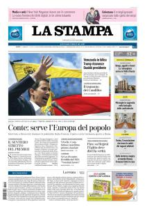 La Stampa Torino Provincia e Canavese - 24 Gennaio 2019