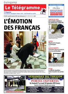 Le Télégramme Guingamp – 28 septembre 2019