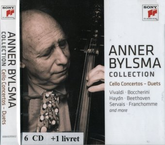 Anner Bylsma -  Collection: Cello Concertos & Duets [6CD BoxSet] (2014) {Sony Music}