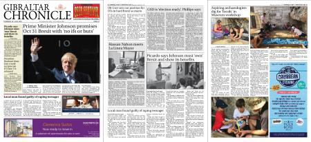 Gibraltar Chronicle – 25 July 2019