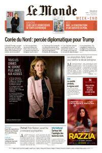 Le Monde du Samedi 10 Mars 2018
