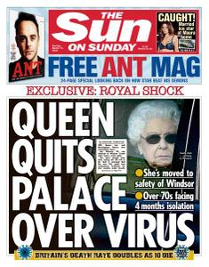 The Sun UK - 15 March 2020