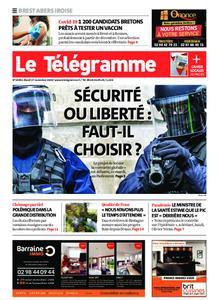 Le Télégramme Brest Abers Iroise – 17 novembre 2020