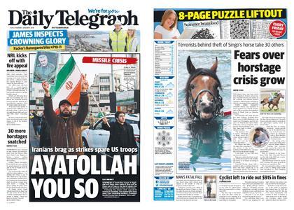 The Daily Telegraph (Sydney) – January 09, 2020