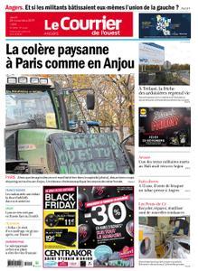 Le Courrier de l'Ouest Angers – 28 novembre 2019