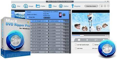 MacX DVD Ripper Pro 8.9.2.169 Build 20.06.2019 Multilingual