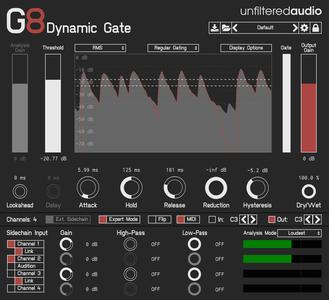 Plugin Alliance Unfiltered Audio G8 Dynamic Gate v1.3.0 MacOSX