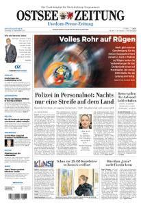 Ostsee Zeitung Wolgast - 12. September 2017