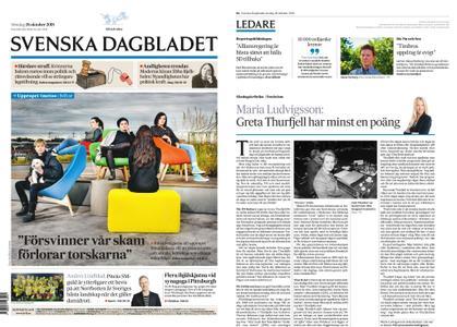 Svenska Dagbladet – 28 oktober 2018