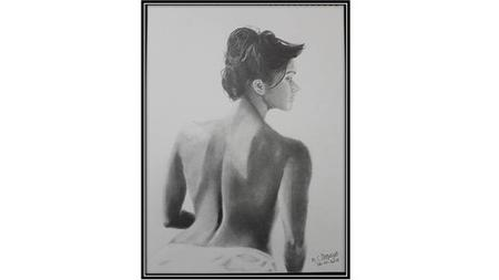 Make Realistic Nude Sketches In Pencil & Dry Pastels