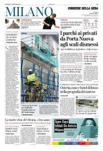 Corriere della Sera Milano – 28 ottobre 2018