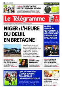 Le Télégramme Quimper – 12 août 2020