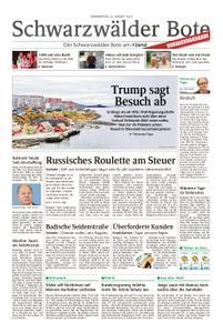 Schwarzwälder Bote Hechingen - 22. August 2019