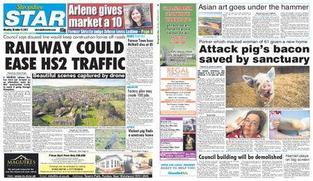 Shropshire Star Shrewsbury Edition – October 09, 2017